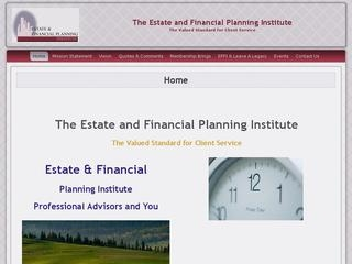 Estate And Financial Planning Institute