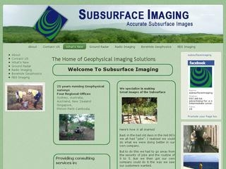 Subsurface Imaging