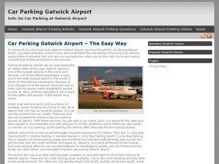 Car Parking Gatwick Airport