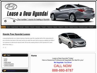 Lease a New Hyundai