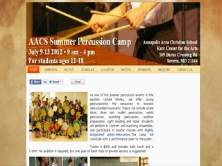 AACS Percussion Camp