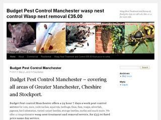 Budget Pest Control Manchester