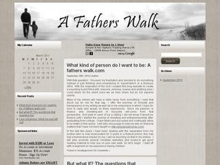 A Father's Walk